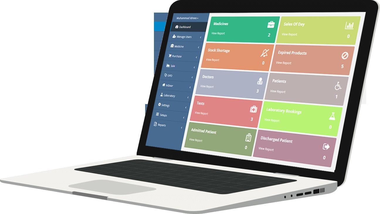 hospital management system software, Global IT Vision
